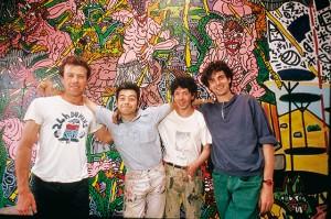 Cahors, 1987 Remi Blanchard, Herve Di Rosa, Robert Combas, François Boisrond