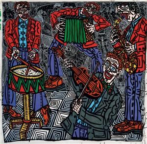 Les musiciens 1989