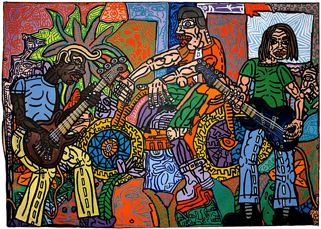 Le Motard et les deux guitares (2007)