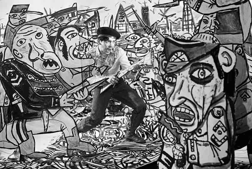 1983_les combats de Combas © Louis Jammes