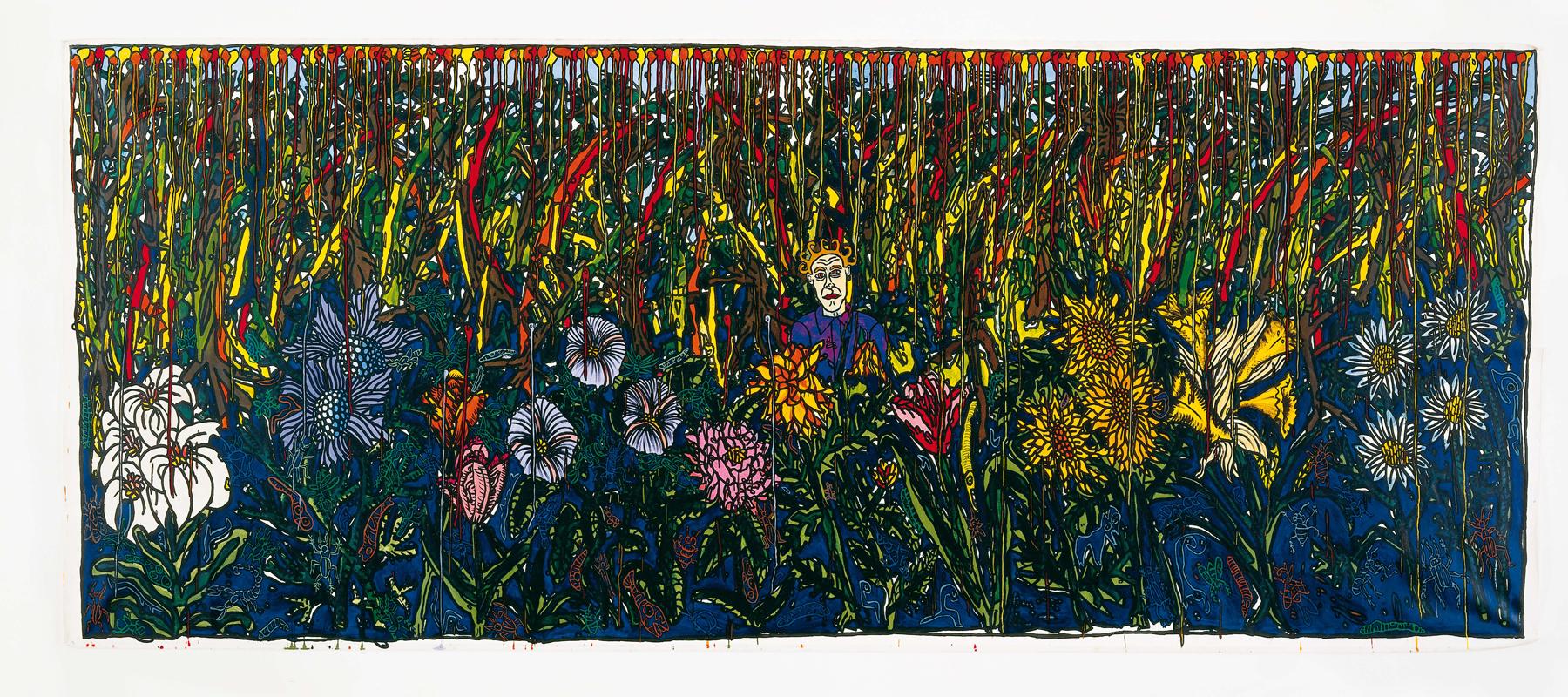 L autiste dans la for t de fleurs 1991 for Dans la foret