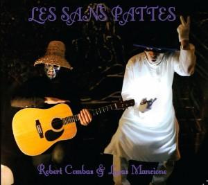 premier EP du groupe LES SANS PATTES Robert Combas & Lucas Mancione sortie le 24 juin 2016