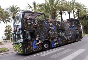 Les Bus Combas roulent sur la Croisette